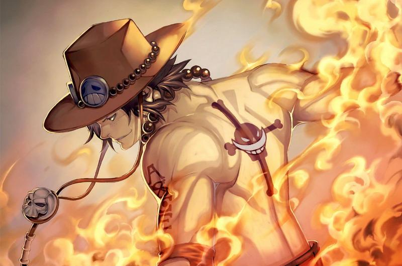 火焰果實-波特卡斯・D・艾斯 | 擁有操縱火焰的能力,同時無法實體化,自然可隨意攻擊移動 | 航海王top10果實票選 | 海賊王 | 卡通動漫