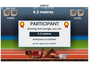 【粉多運動會】QWOP《超難跑步》,讓人玩到想翻桌! Tpe Iry