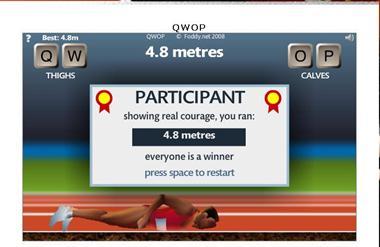 【粉多運動會】QWOP《超難跑步》,讓人玩到想翻桌! 琇媛 林