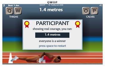【粉多運動會】QWOP《超難跑步》,讓人玩到想翻桌! 海情 噓