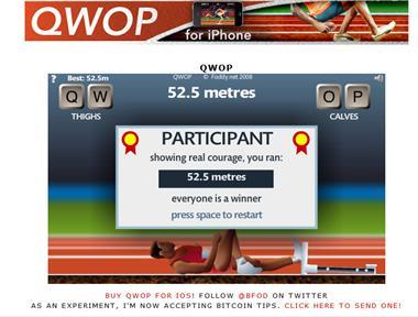 【粉多運動會】QWOP《超難跑步》,讓人玩到想翻桌! 大眼美少女