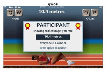 【粉多運動會】QWOP《超難跑步》,讓人玩到想翻桌! 陳 貞貞