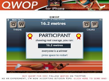 【粉多運動會】QWOP《超難跑步》,讓人玩到想翻桌! Ke Alice