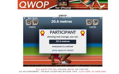 【粉多運動會】QWOP《超難跑步》,讓人玩到想翻桌! 麻糬 琪琪