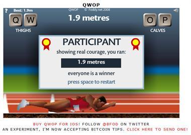 【粉多運動會】QWOP《超難跑步》,讓人玩到想翻桌! 政典 吳
