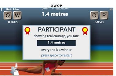 【粉多運動會】QWOP《超難跑步》,讓人玩到想翻桌! Lin Sen
