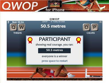 【粉多運動會】QWOP《超難跑步》,讓人玩到想翻桌! Yu-Lee Dai
