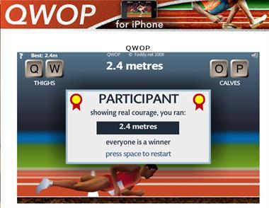 【粉多運動會】QWOP《超難跑步》,讓人玩到想翻桌! Tina Wen