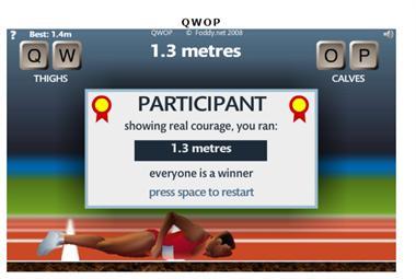 【粉多運動會】QWOP《超難跑步》,讓人玩到想翻桌! Lin Grand