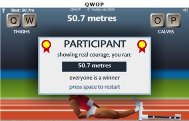 【粉多運動會】QWOP《超難跑步》,讓人玩到想翻桌! 謝 佳儀