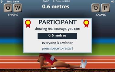 【粉多運動會】QWOP《超難跑步》,讓人玩到想翻桌! Huang Vivia