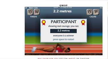 【粉多運動會】QWOP《超難跑步》,讓人玩到想翻桌! ShuHui Liao