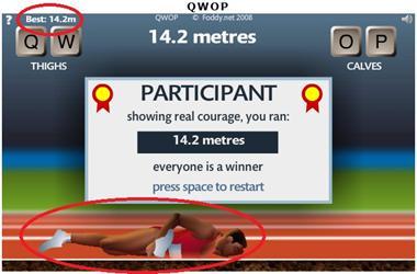 【粉多運動會】QWOP《超難跑步》,讓人玩到想翻桌! 黃 阿存