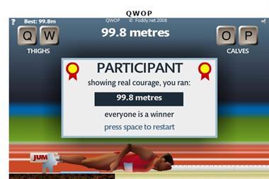 【粉多運動會】QWOP《超難跑步》,讓人玩到想翻桌! Duck lovable