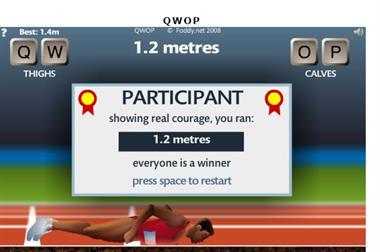 【粉多運動會】QWOP《超難跑步》,讓人玩到想翻桌! Lin Glad
