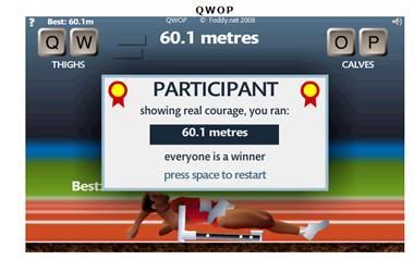 【粉多運動會】QWOP《超難跑步》,讓人玩到想翻桌! 快翻