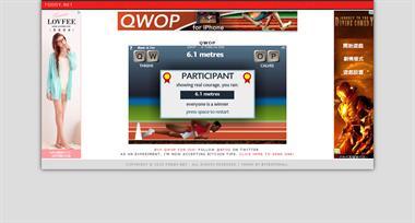 【粉多運動會】QWOP《超難跑步》,讓人玩到想翻桌! Joyce Lo