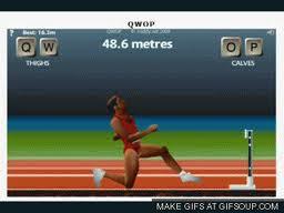 【粉多運動會】QWOP《超難跑步》,讓人玩到想翻桌! Tommy Ton