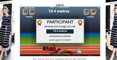 【粉多運動會】QWOP《超難跑步》,讓人玩到想翻桌! 郭兔