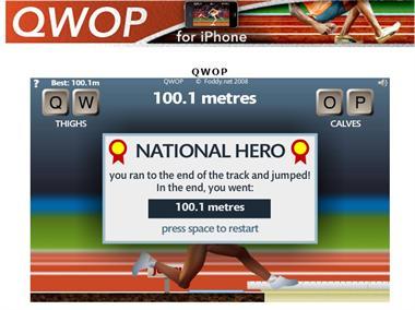 【粉多運動會】QWOP《超難跑步》,讓人玩到想翻桌! 旻頎 施