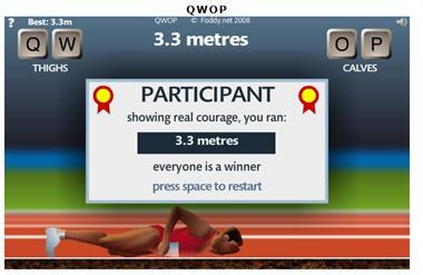 【粉多運動會】QWOP《超難跑步》,讓人玩到想翻桌! Hui Ming