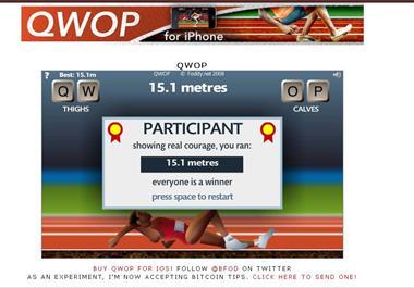 【粉多運動會】QWOP《超難跑步》,讓人玩到想翻桌! Hsieh Lian
