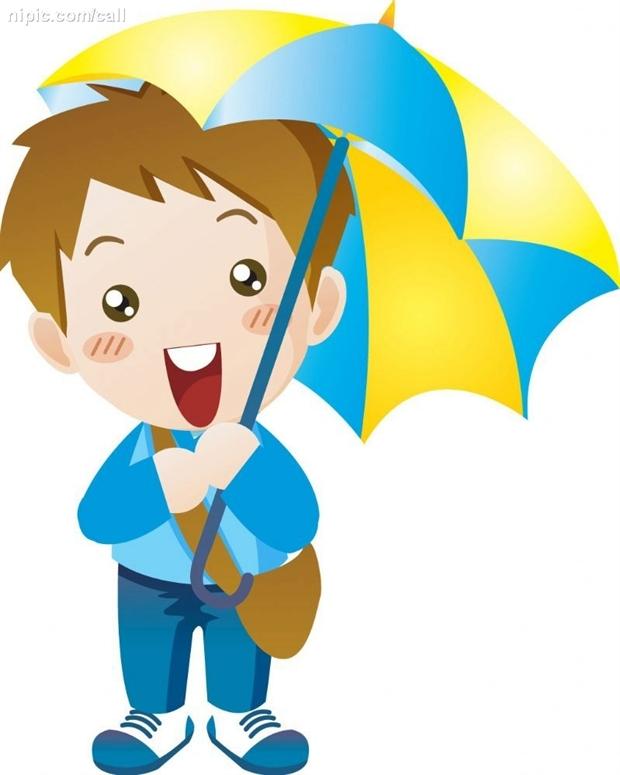 下雨天简笔画 下雨天的诗句