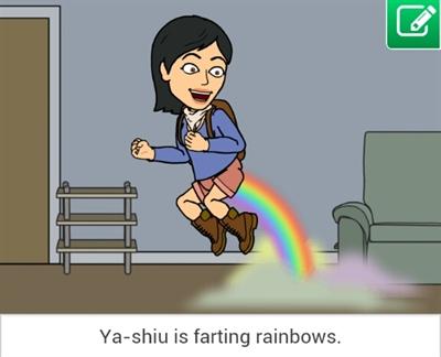 【粉多Bitstrips】惡搞Fun肆趣 Ya-shiu Peng