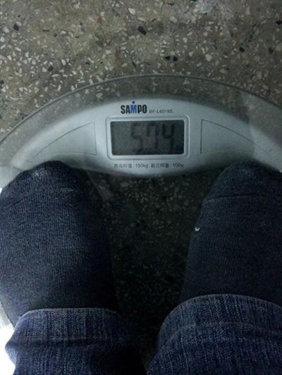 【大運99超級任務】02-量體重 Hsu Ting