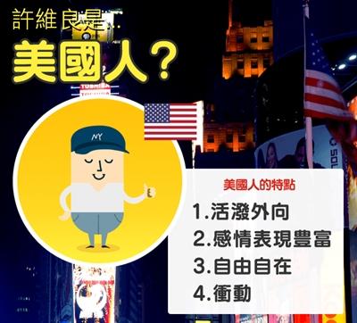 【粉多血統測試】你的內在是哪國人呢? 維良 許