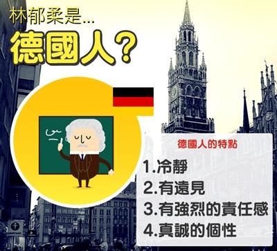 【粉多血統測試】你的內在是哪國人呢? 郁柔 林