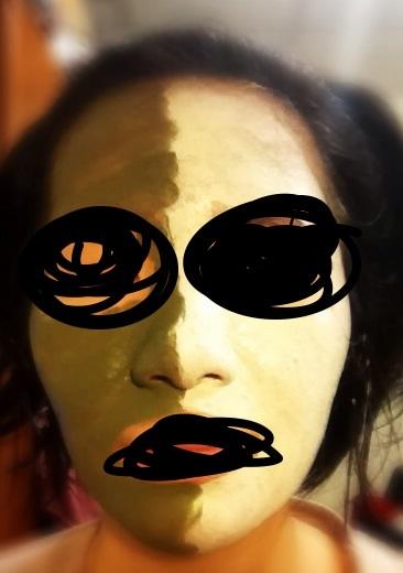 咒怨,黑瞳鬼顏自拍照 Lune