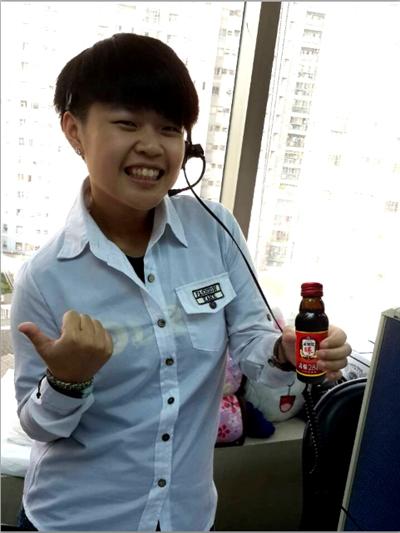 """【正官庄活蔘28D】活力邁""""照""""! Eva Huang"""