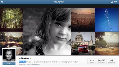 Instagram必Follow名人 陳宇輝