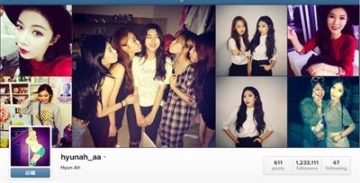 Instagram必Follow名人 Vapy