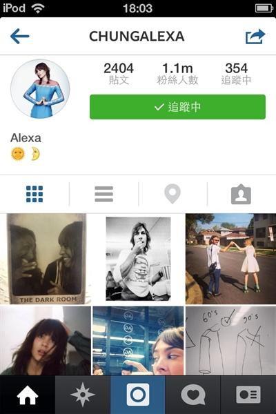 Instagram必Follow名人 Joyce Lo