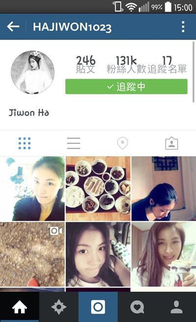Instagram必Follow名人 米血涵