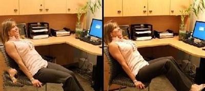 【粉多職場】辦公室減肥法,坐著也能瘦 Michelle Lin