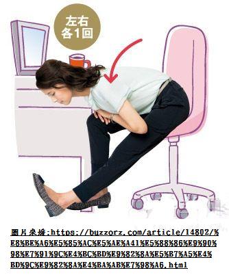 【粉多職場】辦公室減肥法,坐著也能瘦 LinLin