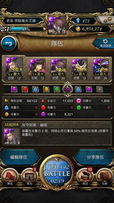 神魔之塔7.2版最強組隊大揭秘! Chen-YuanWu