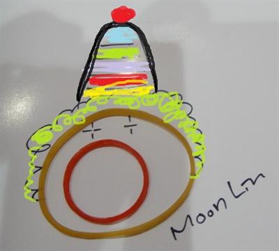 樂趣藏在生活裡,一起動筆畫創意! Moon Lin