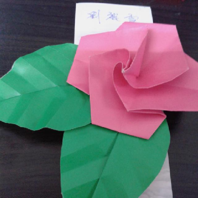 第一屆粉多摺紙大賽!  劉麗雪
