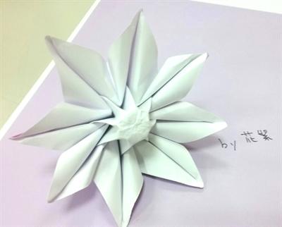 第一屆粉多摺紙大賽! 絮花