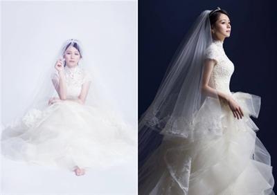 【粉多女人心】夢想中的婚紗禮服 Regina Lin