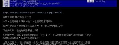募集:最強PTT鄉民大神 Candy Fu