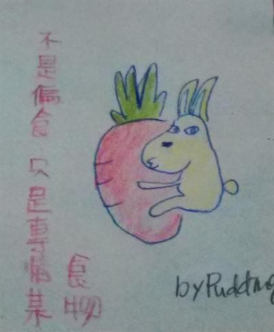 只要有心,人人都是插畫家 PuddingLI