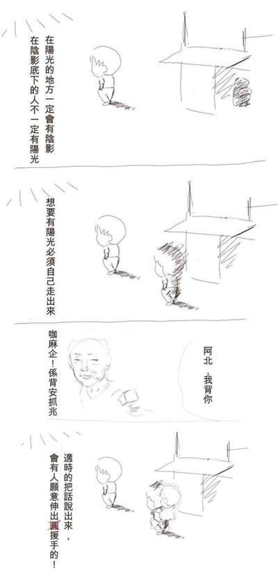 只要有心,人人都是插畫家 藍 徐