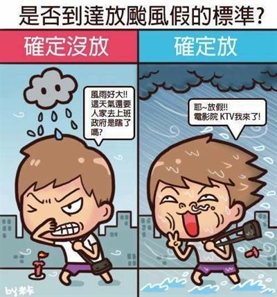 粉多起爭議!颱風假要補班課,你覺得呢? MinHomeLin