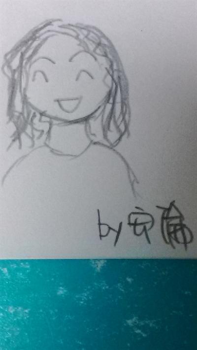 母親節媽咪畫像繪畫比賽 安倫蔣