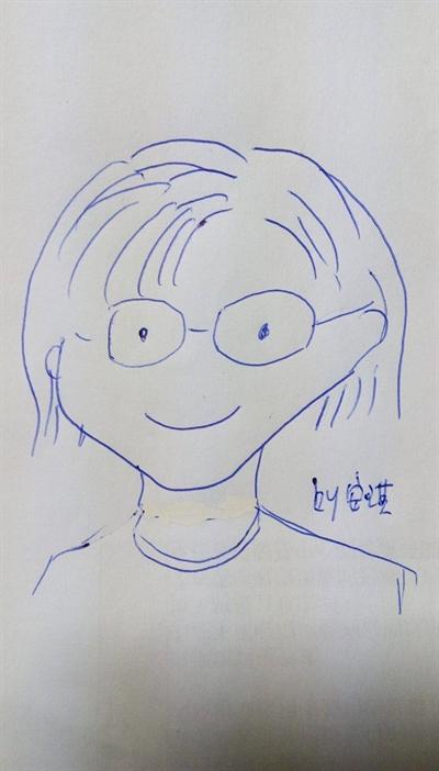 母親節媽咪畫像繪畫比賽 安琪 黃